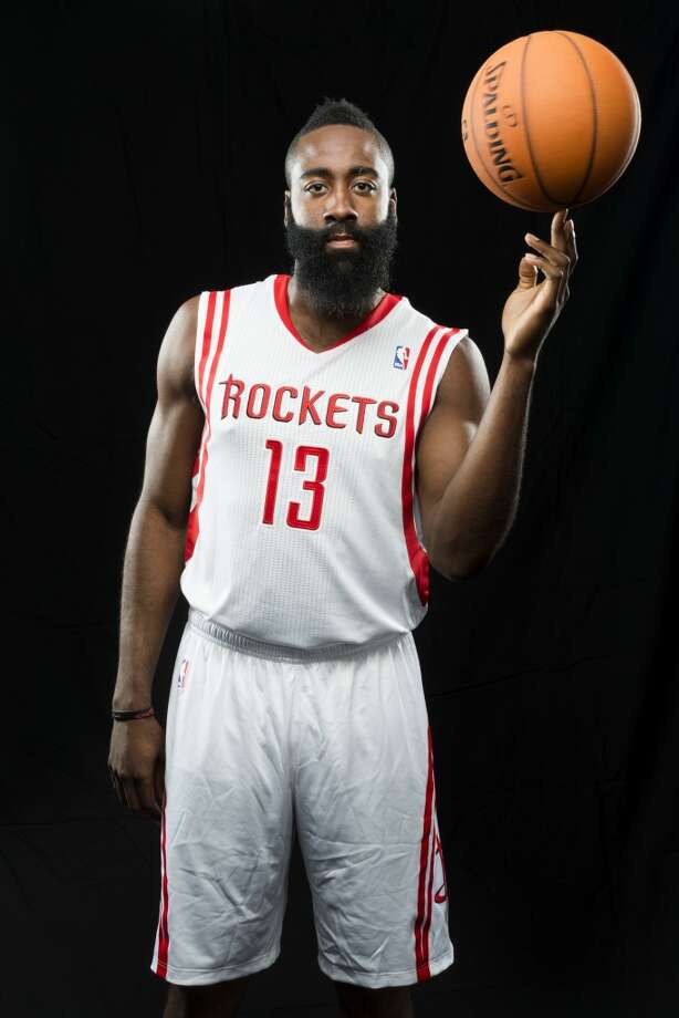 James Harden Position: Shooting guard Height: 6-5 Weight: 220 College: Arizona State Experience: 4 years Contract status: Will be an unrestricted free agent after 2017-18 season Photo: Smiley N. Pool, Houston Chronicle