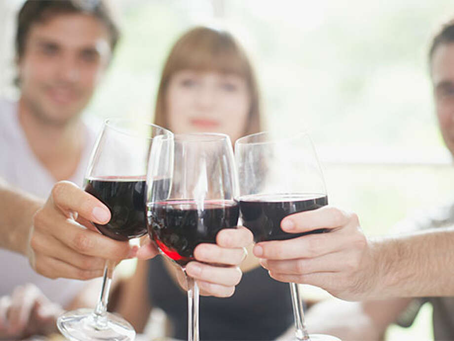 Sip awayGo red — with your wine, that is. A compound found in red vino known as reseveratrol helps protect your ticker against age-related damage. Just a glass a day of a type high in resveratrol, such as pinot noir, may be a heart-helper. Photo: Paul Bradbury/Getty Images