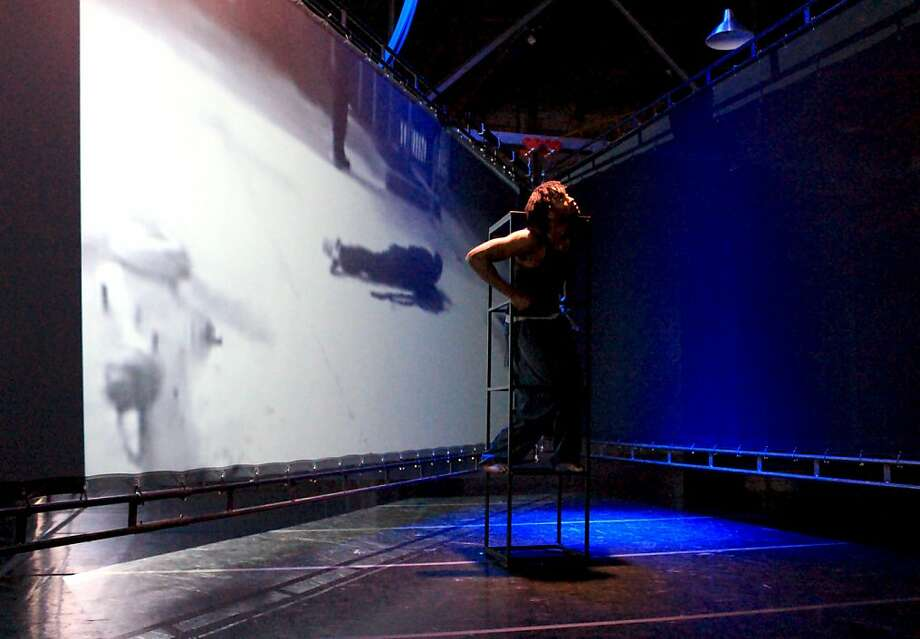 """Rashidi Omari performs in """"Between Me and the Other World."""" Photo: Zaccho Dance Theatre"""