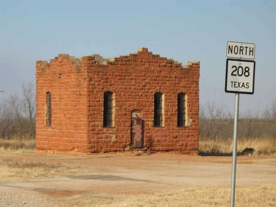 Near Lubbock, Clairemont was established in 1892 as the Kent County seat. It had several stores, a bank, newspaper and even a hotel. A small-scale oil boom brought the population up to 300 during the 1930s and 1940s, but when Jayton became the county seat in 1954, the courthouse shut down and was abandoned (pictured) and the population diminished.Source: Texas State Historical Association