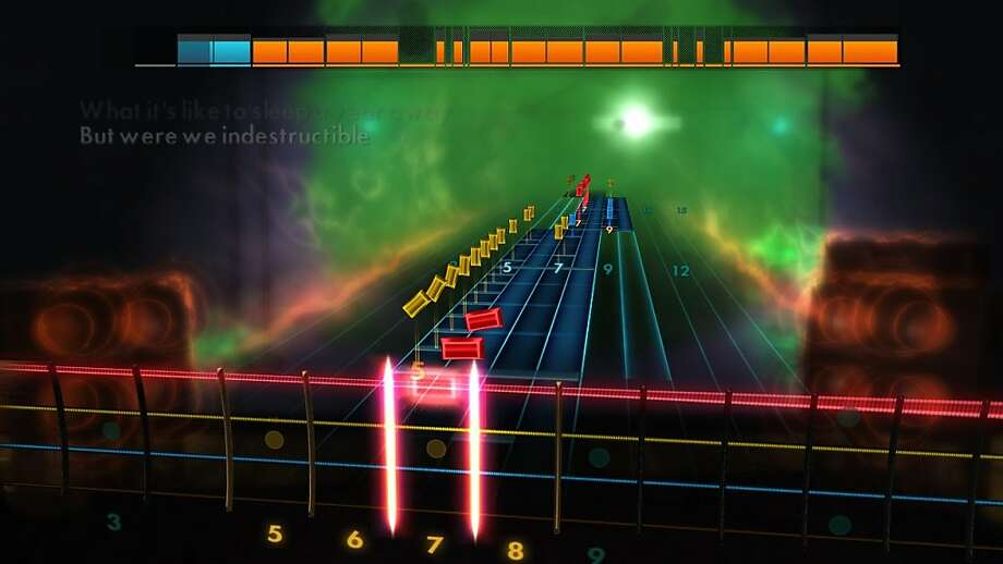 "Music video games have come a long way: ""Rocksmith"" players learn on the guitars of their choice. Photo: Ubisoft"