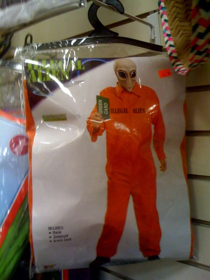 Illegal Alien:This illegal alien costume trivializes the plight of illegal immigrants, many of whom are victims of poverty and political persecution. Photo: Photo From Flickr.