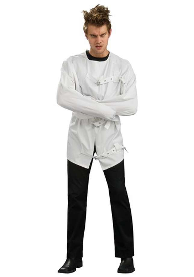 Mentally Insane:The mentally-ill are stigmatized as dangerous and prone to violence. This costume demeans the thousands of Americans who struggle with mental  illness. Photo: Photo From Halloweencostumes.com.