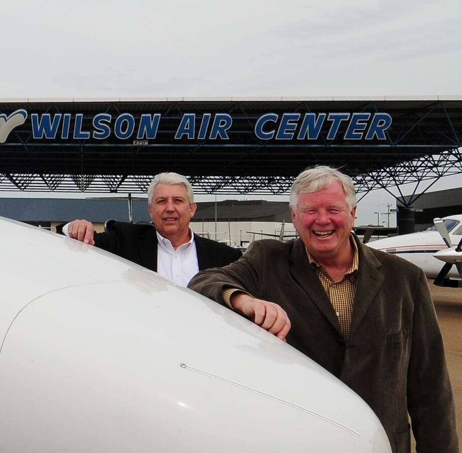Vice President Dave Ivey and President Bob Wilson, with Wilson Air Center. Photo: Wilson Air