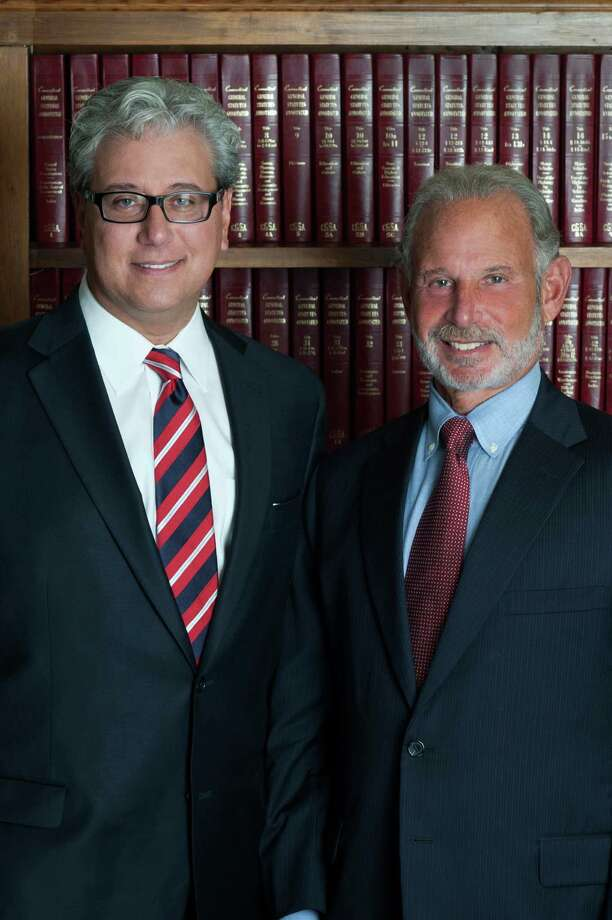 "Thom Parrino, left, of New Canaan, and Ed Nusbaum, co-founders and principals of the Westport-based Nusbaum & Parrino, PC, were contributors of a chapter in ""Family Law Jurisdictional Comparisons."" Photo: Contributed Photo, Contributed / New Canaan News Contributed"