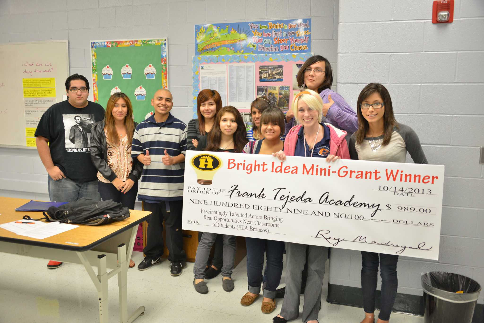 bright ideas at harlandale isd bring in hefty checks - san antonio