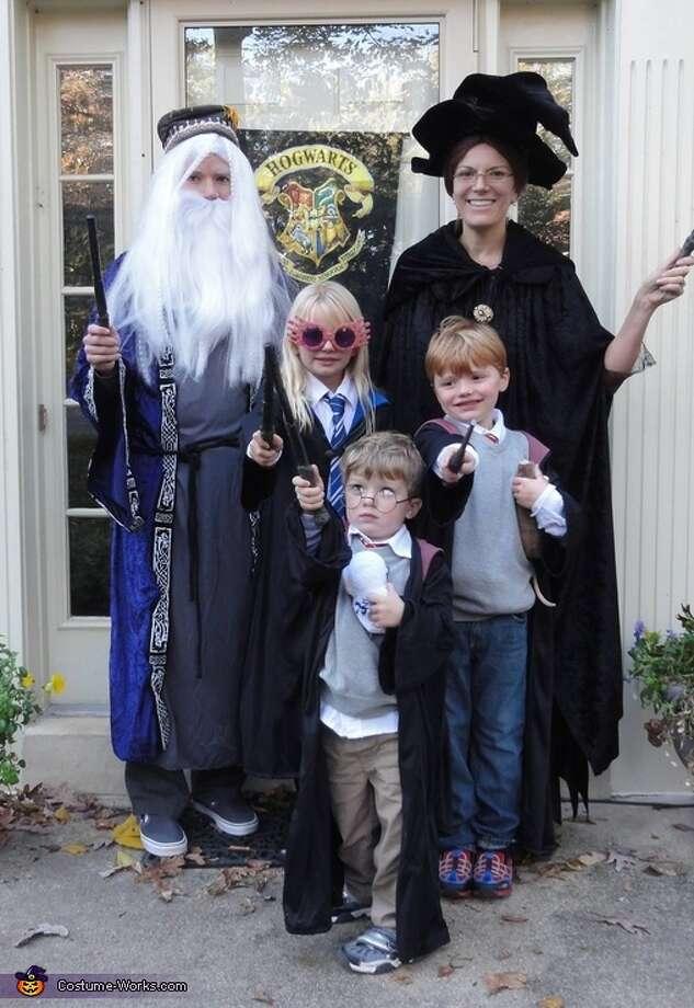 Harry Potter family Photo: