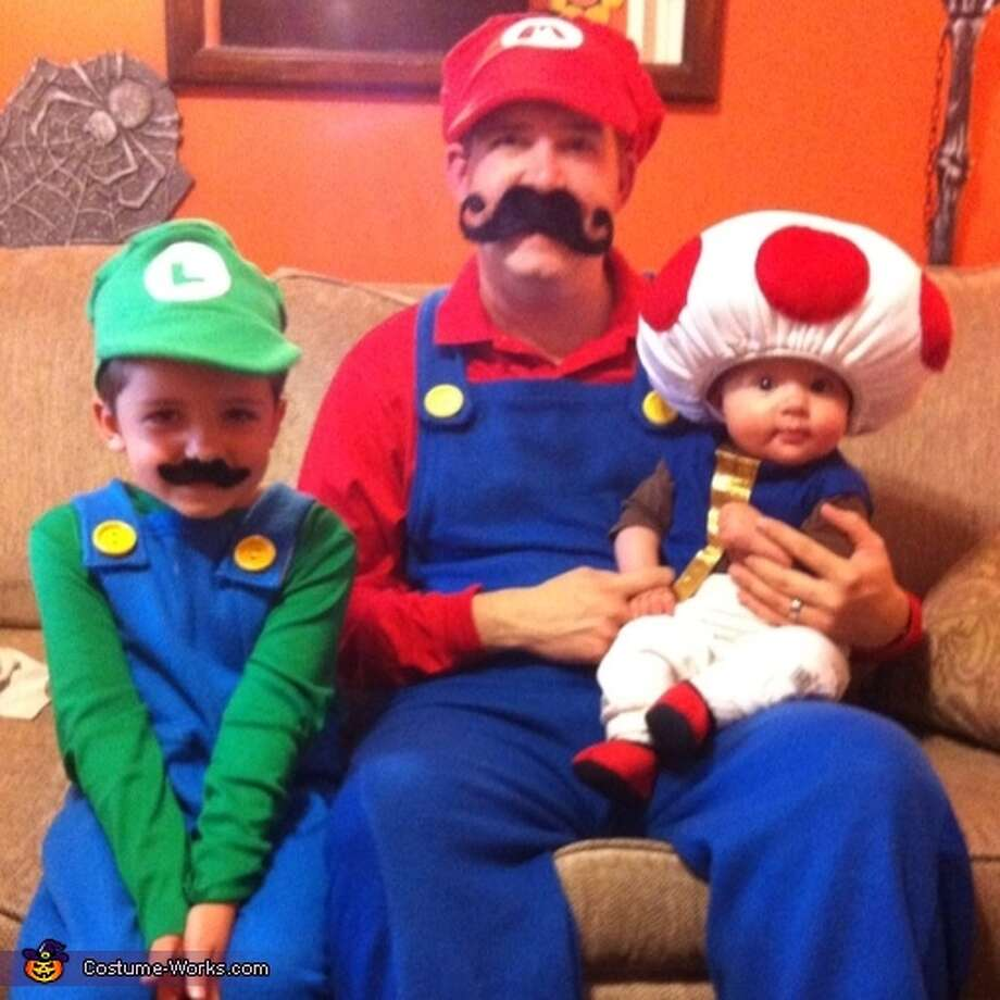 Mario, Luigi and Toad Photo: