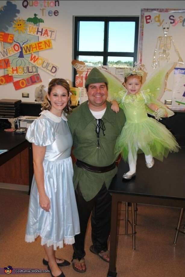 Peter Pan, Wendy and Tinker Bell Photo: