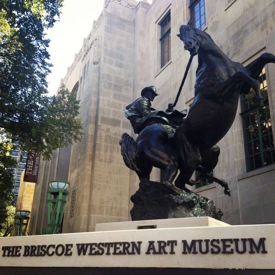 The Briscoe Western Art Museum opened over the weekend. Photo: Benjamin Olivo, MySA.com