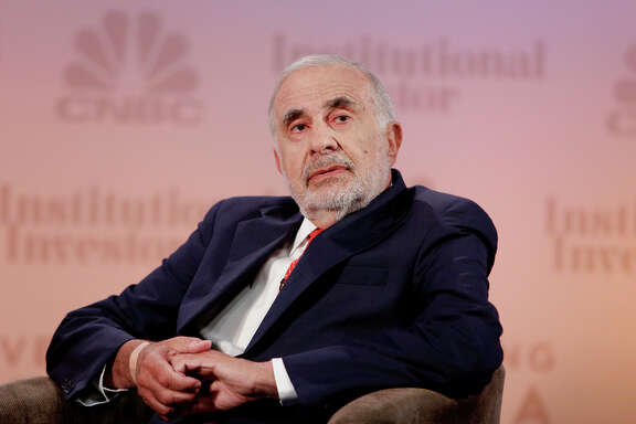 Carl Icahn has invested $100 million in San Francisco ride service company Lyft.