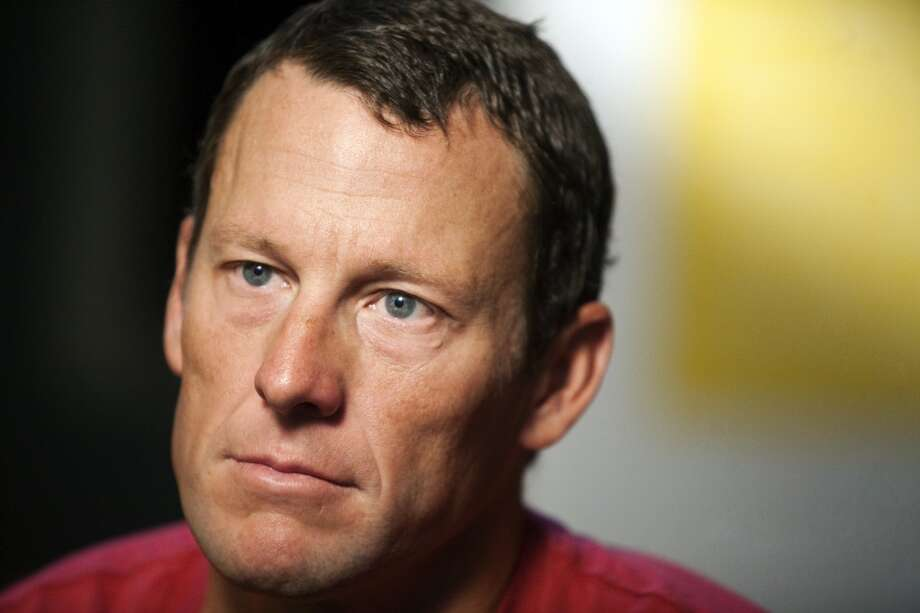 Cyclist Lance Armstrong was born in Plano, Texas in 1971. Photo: Thao Nguyen, Associated Press