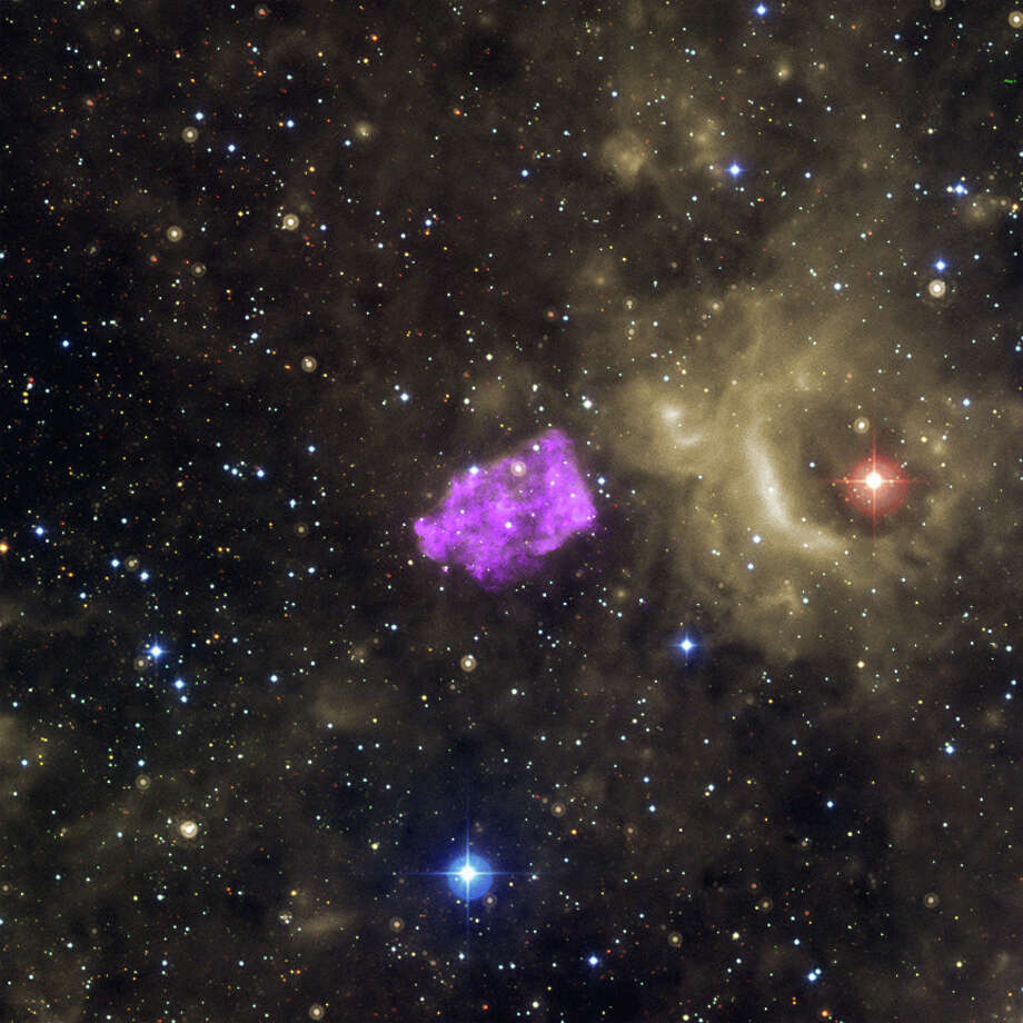 X-ray, Optical & Infrared Images of 3C 397