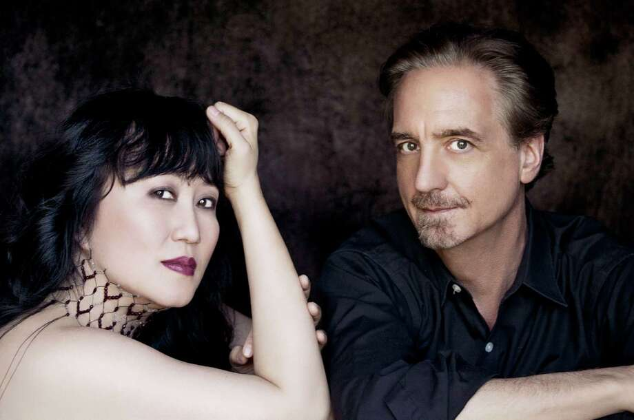 Wu Han and David Finckel (Courtesy Chamber Music Society at Lincoln Center)