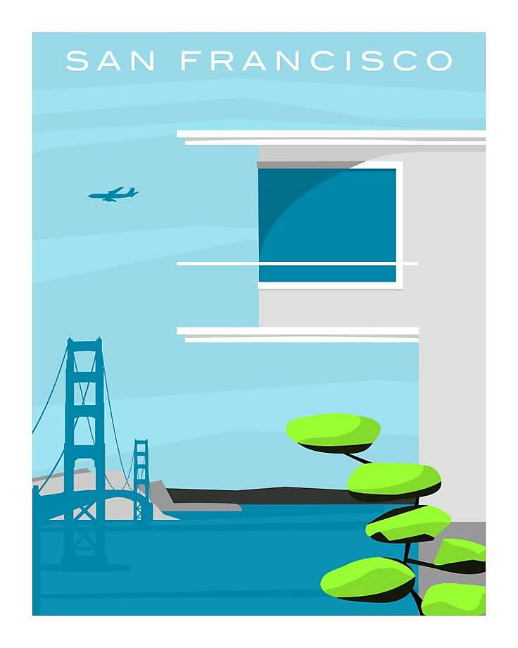 "When people think of San Francisco architecture, visions of classic Victorians and the Painted Ladies often come to mind. But architect-turned-artist Michael Murphy, a San Francisco native, knows that the city also has many wonderful examples of modern architecture that sometimes go overlooked and unappreciated. His ""Forgotten Modernism"" series, an ongoing catalog of modern architecture, tries to bring attention to these buildings. Photo: Courtesy Michael Murphy"