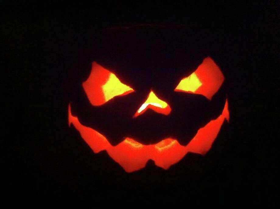 James Coupland's pumpkin.