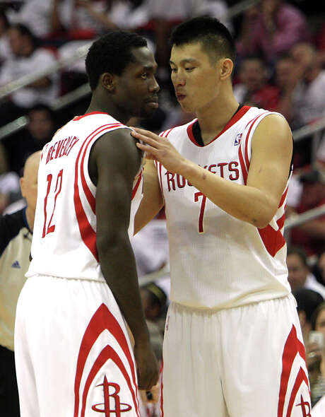 Rockets point guards Patrick Beverley, left, and Jeremy Lin say being the starter doesn't really matter. Photo: James Nielsen, Staff / Â 2013  Houston Chronicle