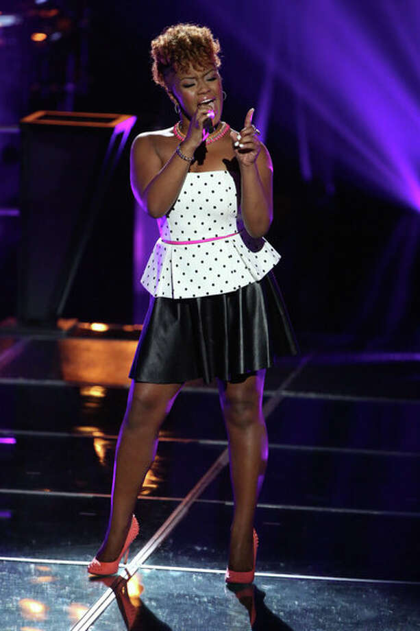 "THE VOICE -- ""Knockout Rounds"" Episode 511 -- Pictured: Amber Nicole  -- (Photo by: Tyler Golden/NBC) Photo: NBC, Tyler Golden/NBC / 2013 NBCUniversal Media, LLC"