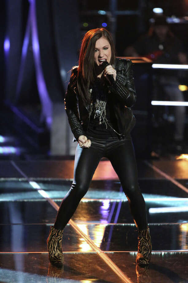 "THE VOICE -- ""Knockout Rounds"" Episode 511 -- Pictured: Kat Robichaud -- (Photo by: Tyler Golden/NBC) Photo: NBC, Tyler Golden/NBC / 2013 NBCUniversal Media, LLC"