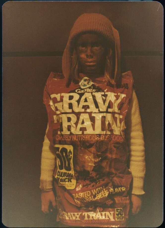 Gravy train or should we say scary train Photo: Awkward Family Photos