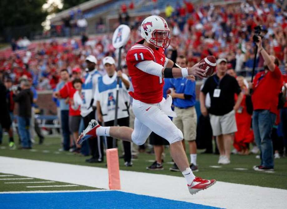 Texas-ex Garrett Gilbert is finally enjoying some big moments at SMU.