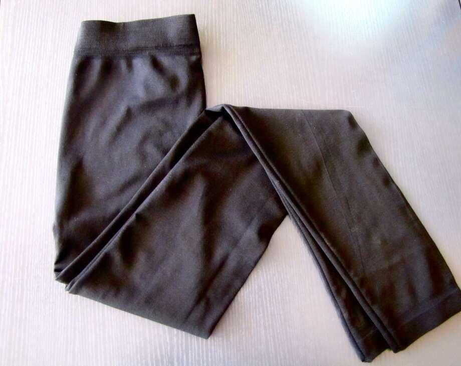 Black leggings, $16, The Pink Chandelier, Beaumont Photo: Cat5