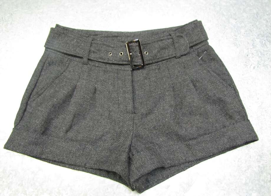 Tweed shorts, $7.99, Company E2, Beaumont Photo: Cat5