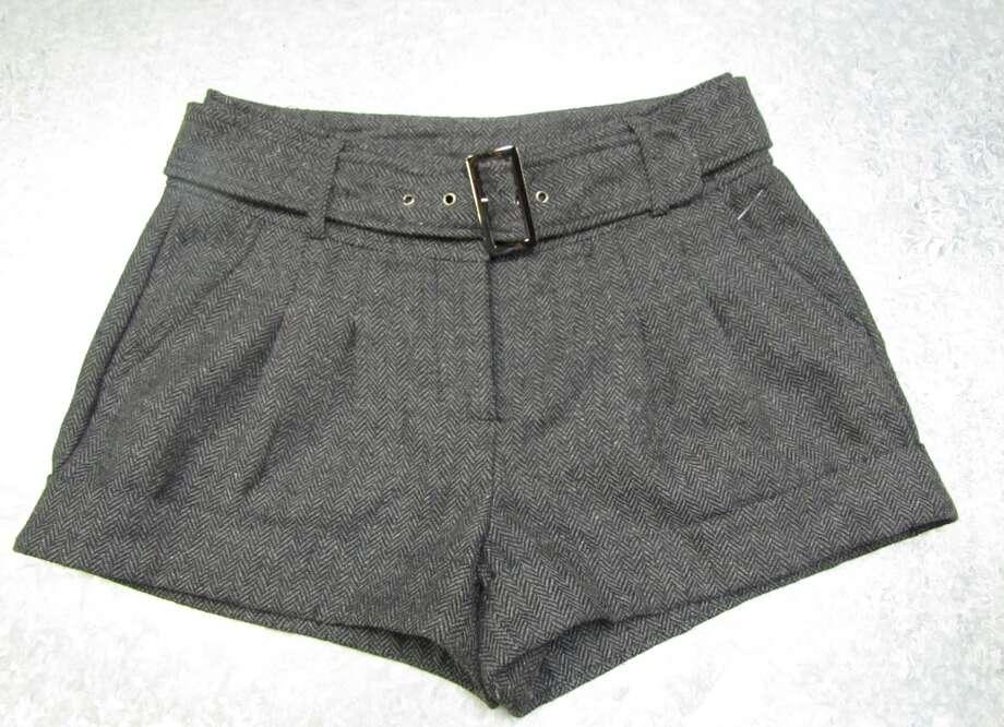 Tweed shorts, $7.99, Company E2, Beaumont Photo: Cat5