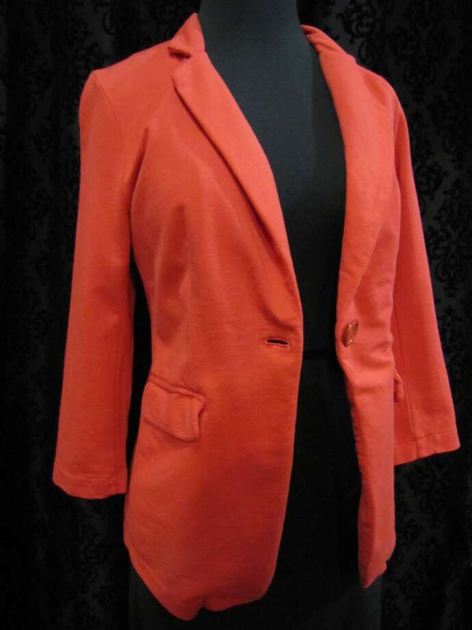 Red blazer, $72, Gaudie & Co., Beaumont Photo: Cat5