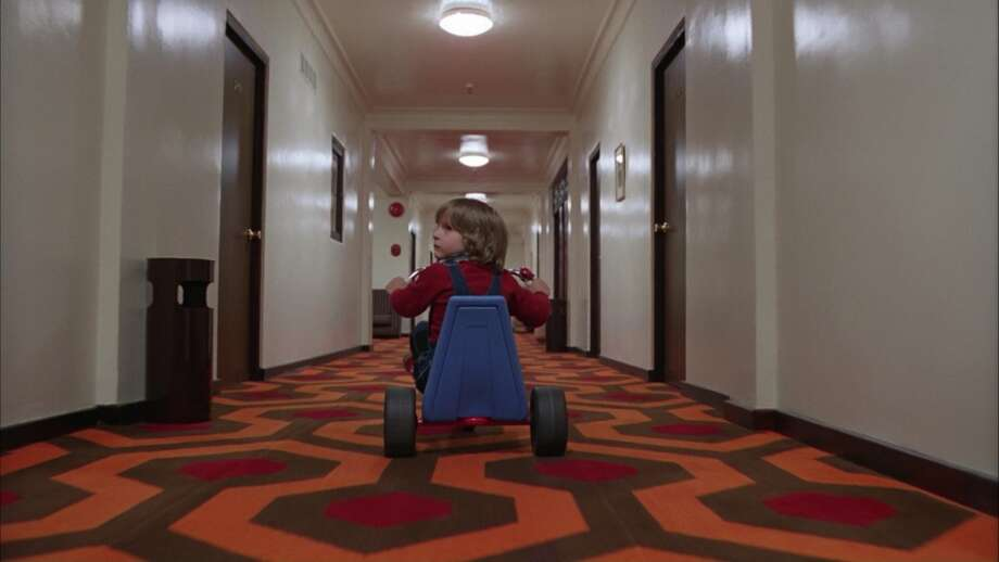 "Tricycles:  Little Danny Torrance wheeling around the deserted hotel in ""The Shining"" (1980) is one of the most iconic scenes of the movie. There was definitely something ominous about that plastic whirling sound stopping dead when he saw the Grady Twins waiting at the end of the hall.  In ""The Omen"" (1971), Damien apparently uses the bike to rev up enough evil juju before letting loose in the hallway to knock his adopted mother over the edge of the second story balcony.  Even gore-soaked ""Saw"" (2004) borrows the creepy three-wheeled vehicle. Jigsaw's mascot Billy is usually seen riding a red metal tricycle – not sure why, but for some reason the fact that the sadistic puppet rocks a big wheel just makes it creepier. Photo: AP, Warner Brothers"