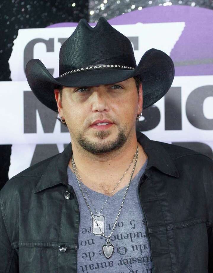 FILE - This June 5, 2013 file photo shows country singer Jason Aldean at the 2013 CMT Music Awards at Bridgestone Arena in Nashville, Tenn. Police in Indiana say a man was killed early Monday, Oct. 28, when he was struck by a tour bus belonging to country star Jason Aldean. (Photo by Wade Payne /Invision/AP, File) Photo: Wade Payne, Wade Payne /Invision/AP / Invision