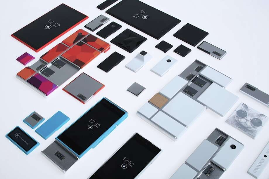 A Project Ara would consist of modules, each delivering a feature or capability, plugging into a common endoskeleton, or base. Photo: Motorola
