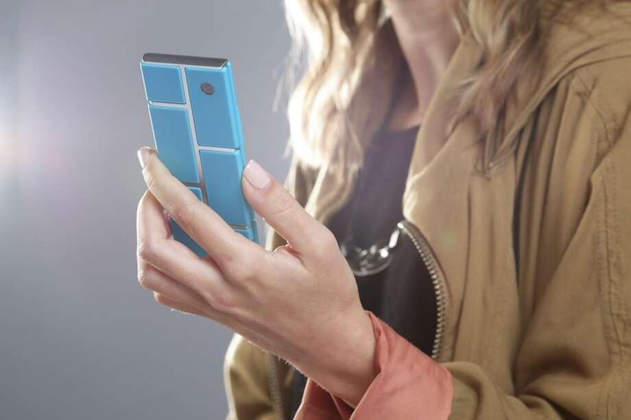 A Project Ara concept phone Photo: Motorola