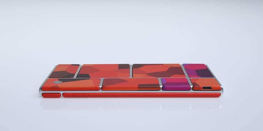 A Project Ara concept phone Photo: Motorola