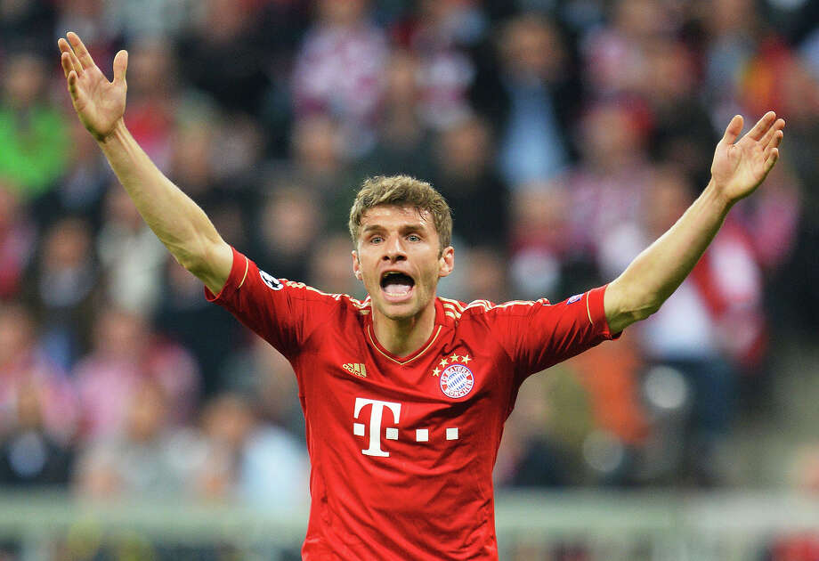 Thomas Müller (Germany) Photo: Stuart Franklin, Bongarts/Getty Images / 2013 Getty Images
