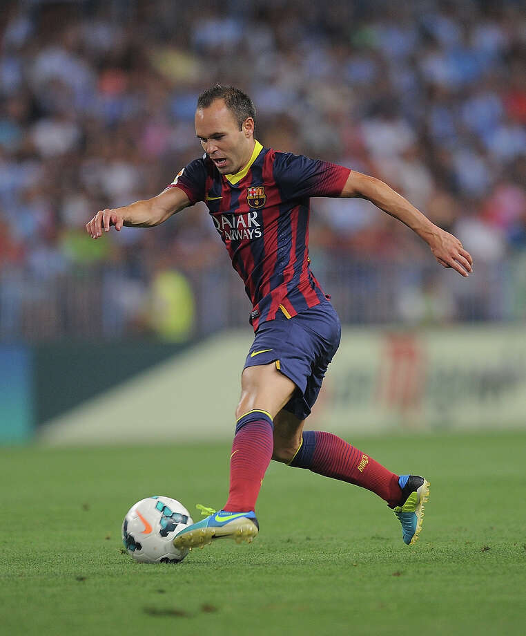 Andrés Iniesta (Spain) Photo: Denis Doyle, Getty Images / 2013 Getty Images