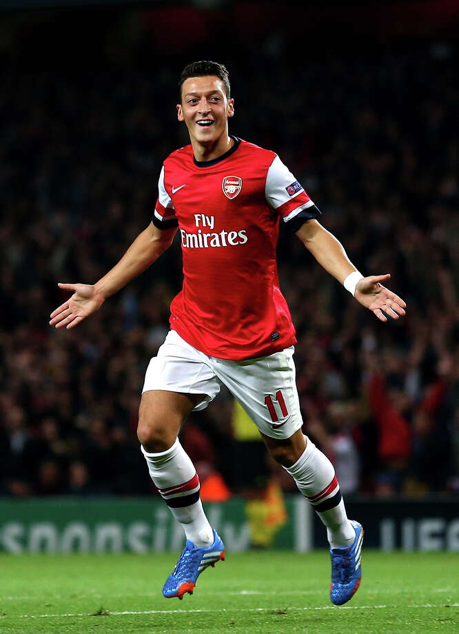 Mesut Özil (Germany) Photo: Paul Gilham, Getty Images / 2013 Getty Images