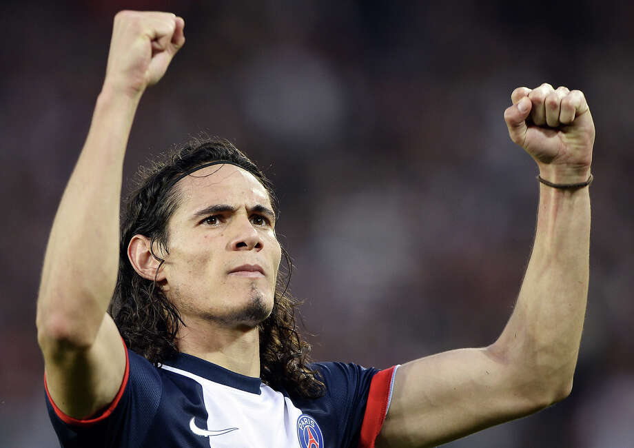Edinson Cavani (Uruguay) Photo: FRANCK FIFE, AFP/Getty Images / 2013 AFP