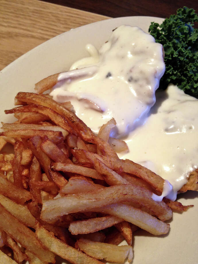 Reader favoriteThe chicken fried steak at Barbecue Inn, 116 W. Crosstimbers.Information current as of February 16, 2015. Photo: J.C. Reid