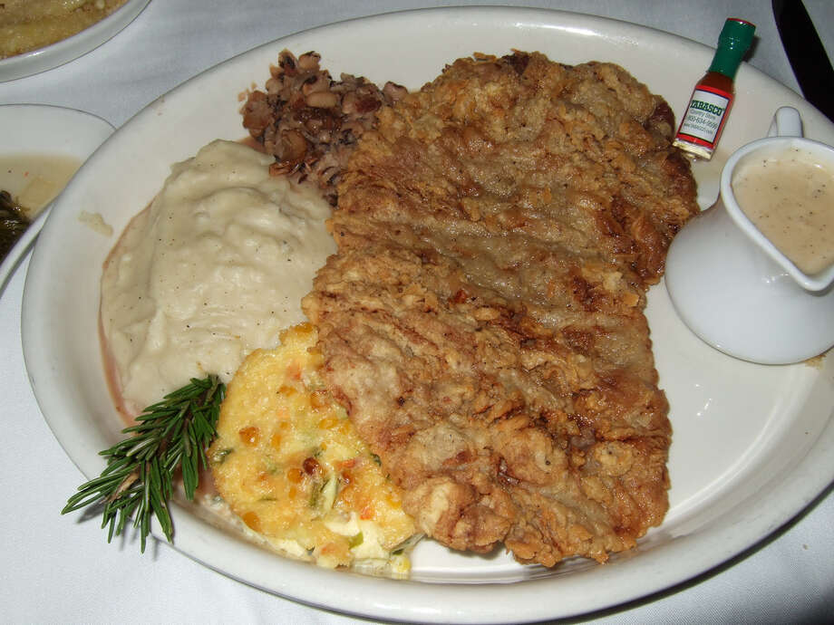 The chicken fried steak at Ouisie's Table, 3939  San Felipe.  Photo: J.C. Reid / handout
