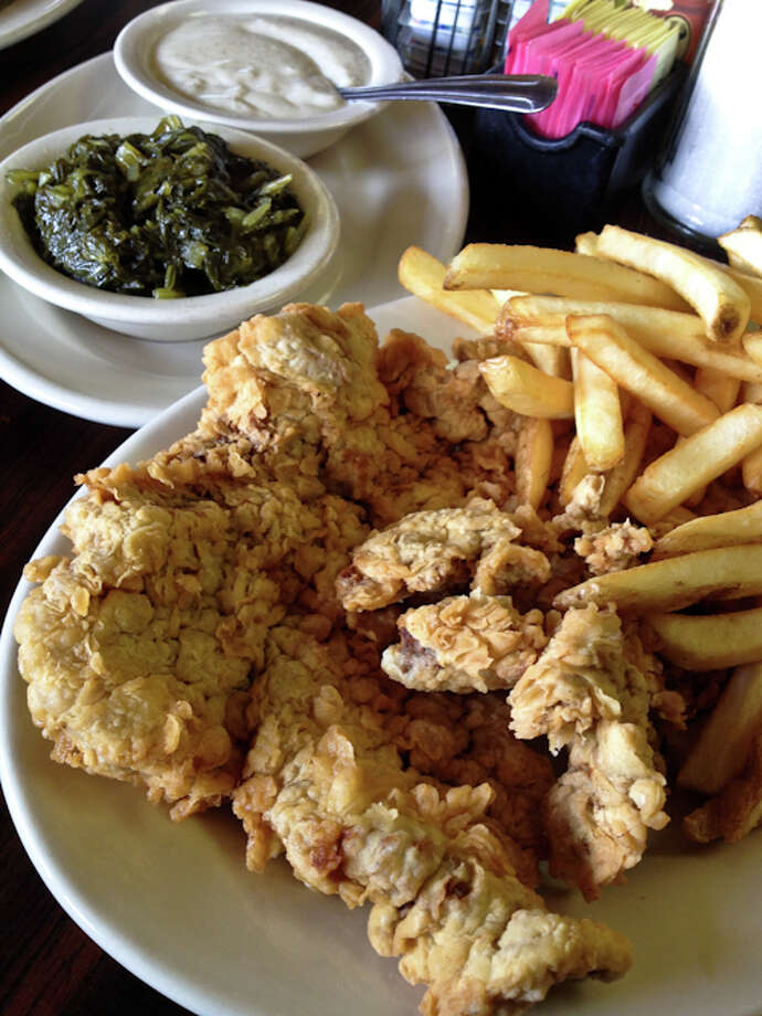 The chicken fried steak at Triple A, 2526 Airline Drive. Photo: J.C. Reid