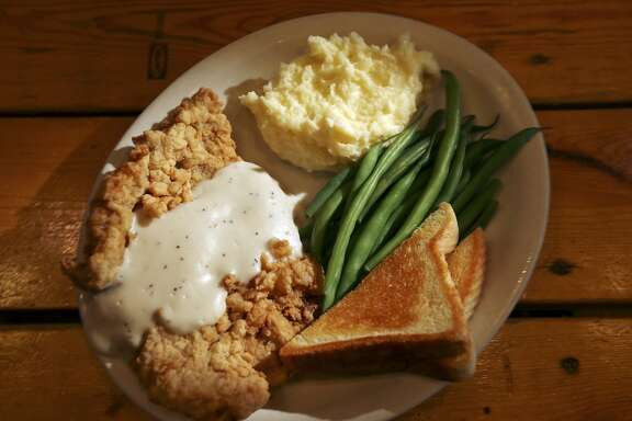 The chicken fried steak at Richter's Antler Cafe, 1 Sun Valley Drive in Spring Branch.