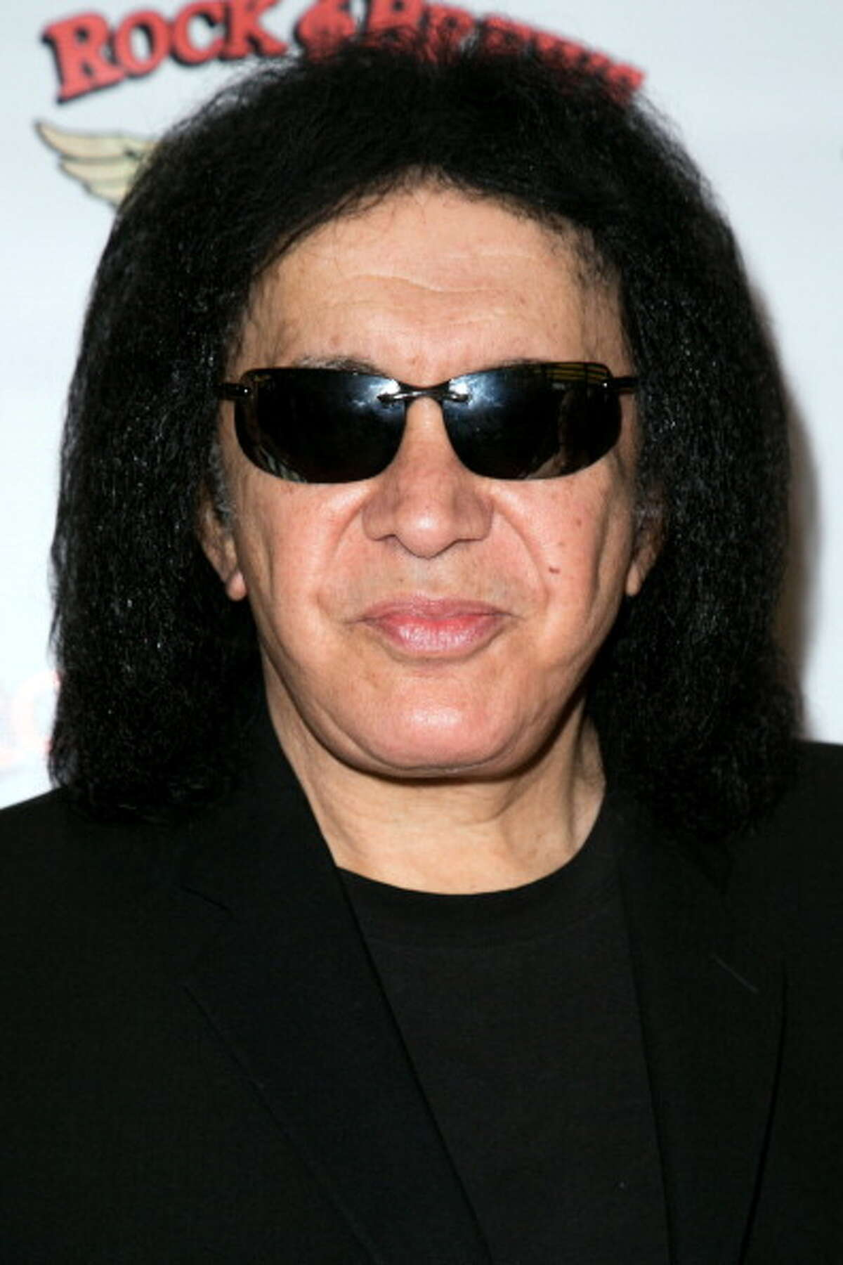 Gene Simmons, photographed just last week -- reader suggestion.