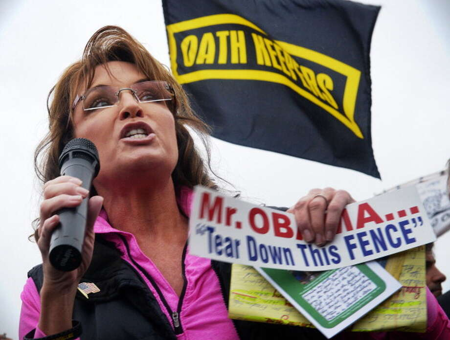 Sarah Palin, former politician turned political commentator, by popular demand. Photo: The Washington Post, The Washington Post/Getty Images / 2013 The Washington Post