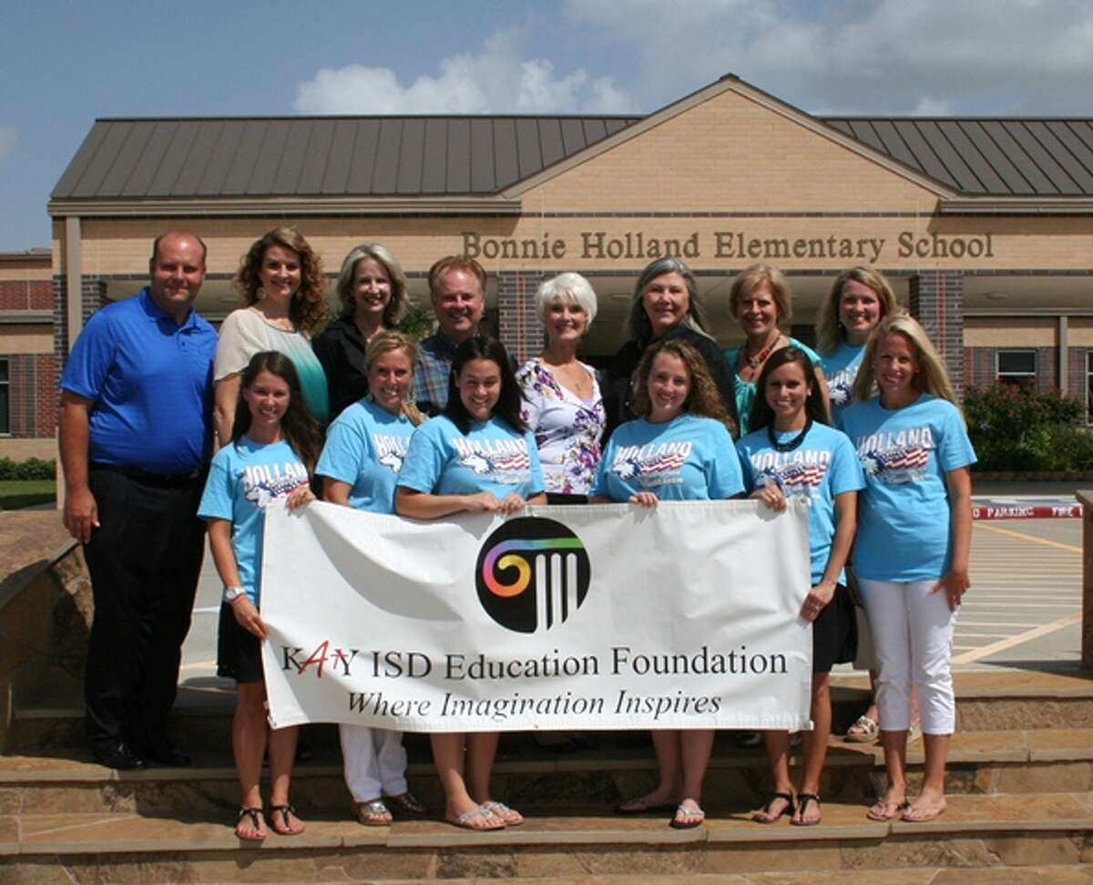 The donation will benefit the Katy ISD Education Foundation's Inspiring Imagination grant program.