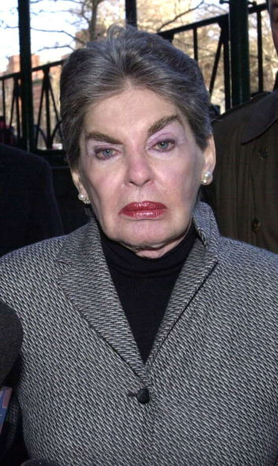 Leona Helmsmley -- real estate mogul. Photo: Keith Bedford, Getty Images / 2003 Getty Images