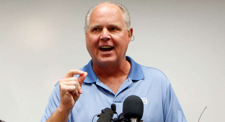Rush Limbaugh, by popular demand. Photo: Chris Carlson, AP2010 / AP2010