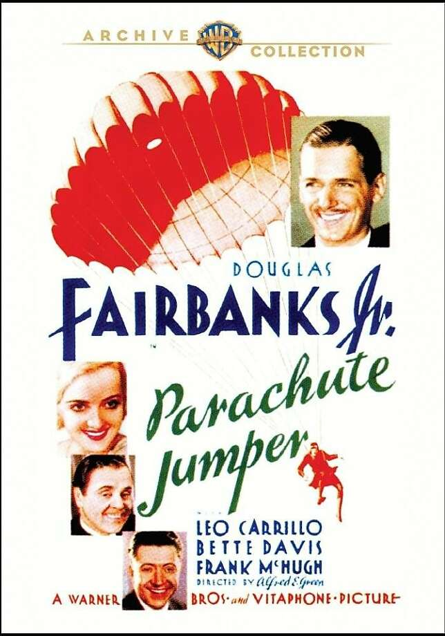 "dvd cover ""Parachute Jumper"" Photo: Warner Archive, Amazon.com"