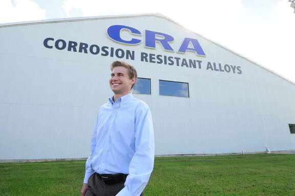 Corrosion Resistant Alloys' Cullen Handfelt applied for funds to help with his trip to Africa to fix water wells. The company's answer: yes.