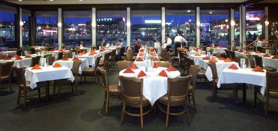 The dining room. Photo: John O'Hara, The Chronicle